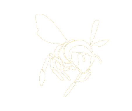 Fallentimber Bee Logo